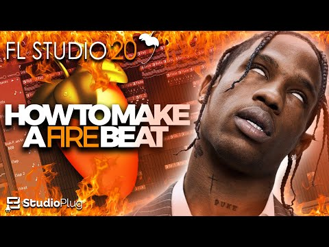 How To Make A Fire Trap Beat On FL Studio | Dark Trap Beat Tutorial