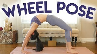 Power Pose Practice: How to do Wheel | 30 Min. Yoga for Flexibility, Backbends, At Home