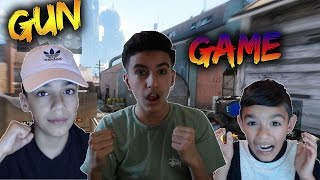 Black Ops 3 Gun Game Challenge With Brothers! How Did We Win?
