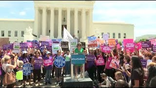 Protest against abortion bans held in D.C.
