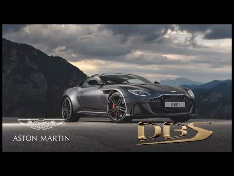 The new Aston Martin DBS Superleggera -...