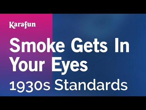 Karaoke Smoke Gets In Your Eyes - 1930s Standards *