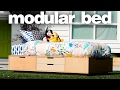 Making A Modular Bed - Woodworking Projects