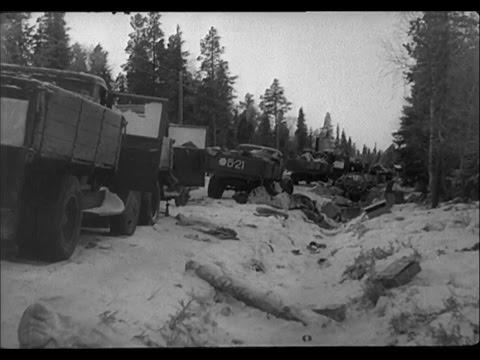 Sweden's only road west - World War II documentary