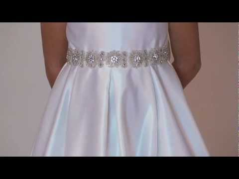 girls-dress-style-587---choice-of-white-or-ivory-satin-sleeveless-dress-with-beaded-detailing