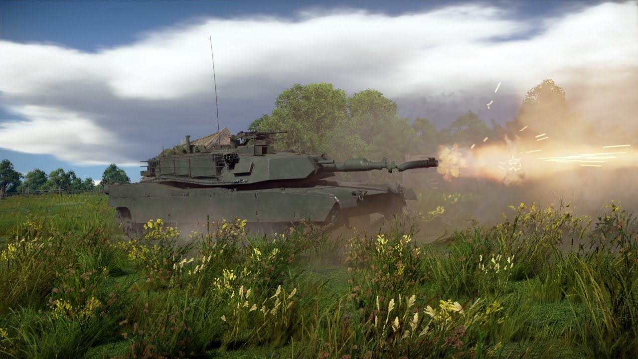 M1A1 -M1 Abrams Gameplay in Tanks RB (War Thunder) - YouTube