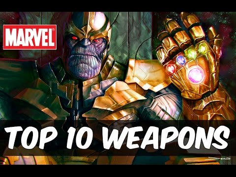 Top 10 Most Powerful Marvel Universe Weapons