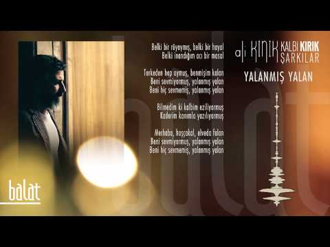 Ali Kınık - Yalanmış Yalan ( Official Lyric Video )