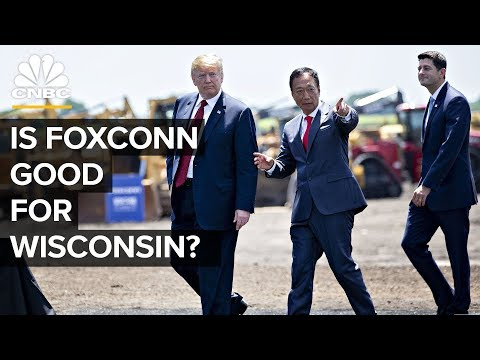 What Foxconn - Apple's Largest Manufacturer - Is Up To In Wisconsin