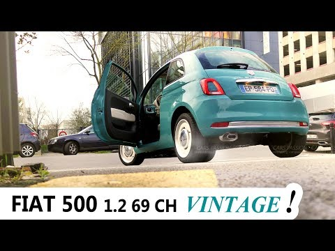 FIAT 500 de 69 CH, UN POT DE YAOURT FASHION, NON ?