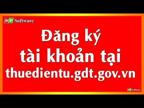 Đăng ký tài khoản tại http://thuedientu.gdt.gov.vn
