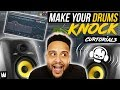 FL STUDIO 12 TUTORIAL: How To Make Your Drums KNOCK | CURTorials