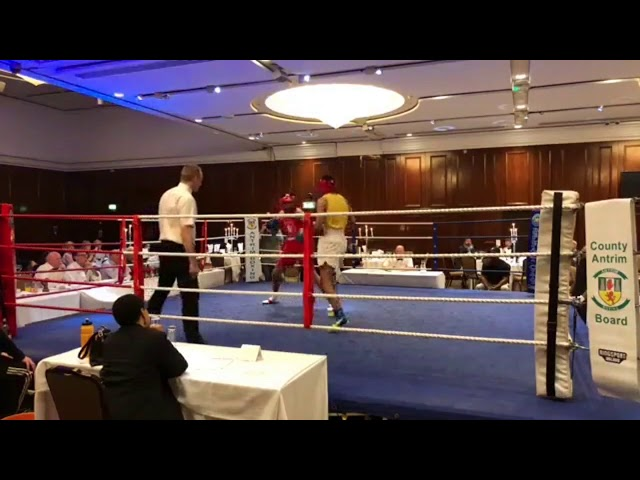 2018 County Antrim Belfast Boxing Classic - Fight 4