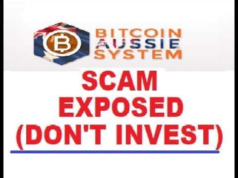 Bitcoin Aussie System SCAM EXPOSED!!!