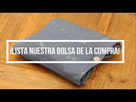 Vídeo Cómo Hacer Una Bolsa De Tela Para La Compra De Una Manera Rápida. Tutorial DIY