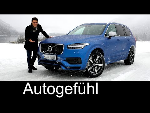 All-new Volvo XC90 T8 AWD R-Design FULL REVIEW test driven - the dream Volvo 2016/2017 neuer