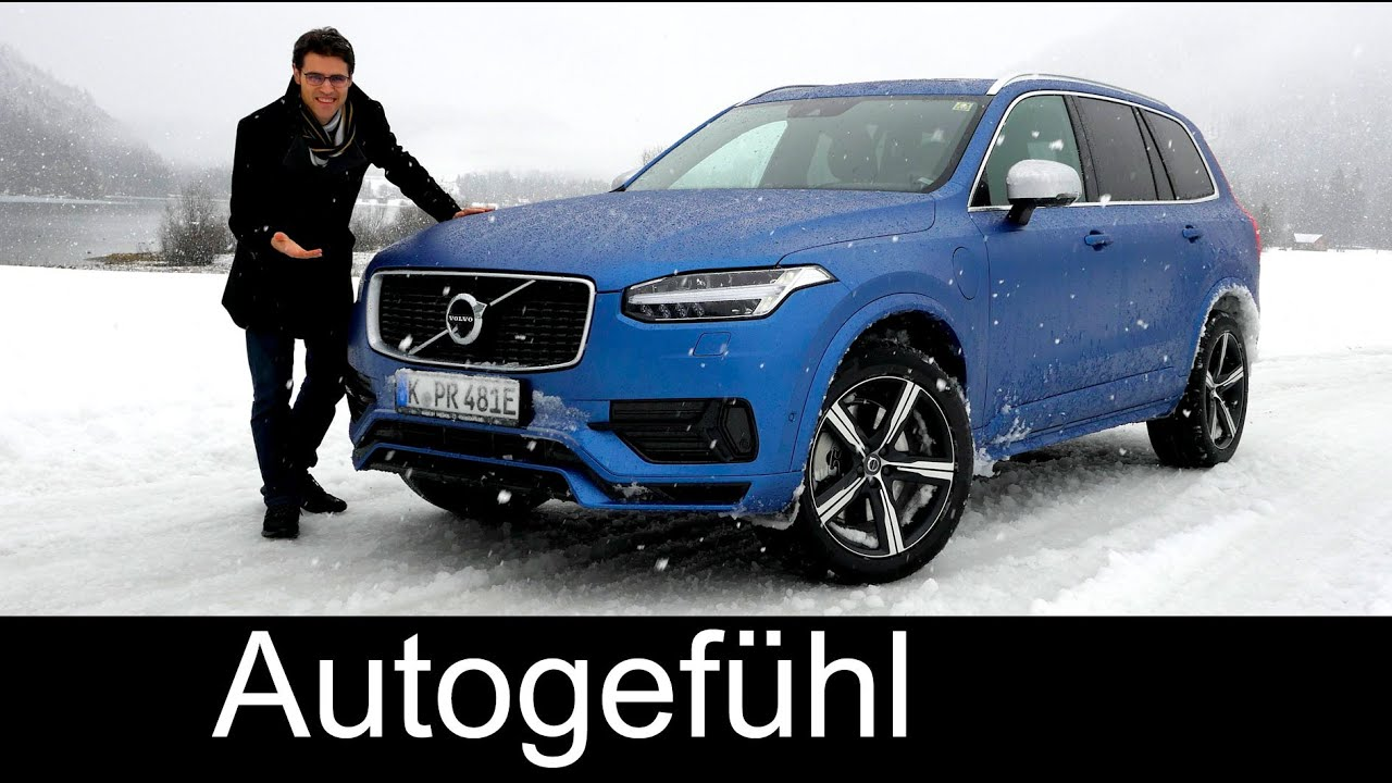 all new volvo xc90 t8 awd r design full review test driven. Black Bedroom Furniture Sets. Home Design Ideas