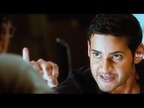 Mahesh Babu Action Dialogue Scene With Nasser - Bussiness Man Tamil Movie Scene