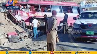 22 killed, 15 injured in Pakistan bus accident