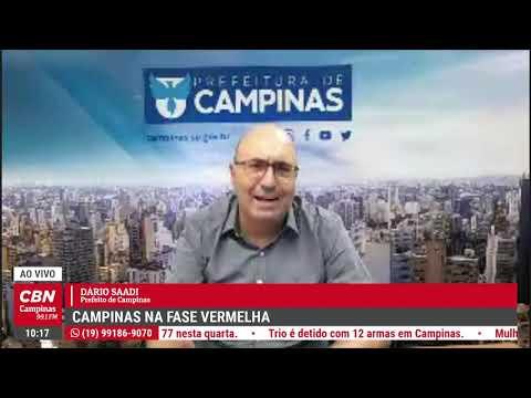 Campinas na Fase Vermelha - Entrevista com Dario Saadi | CBN Campinas