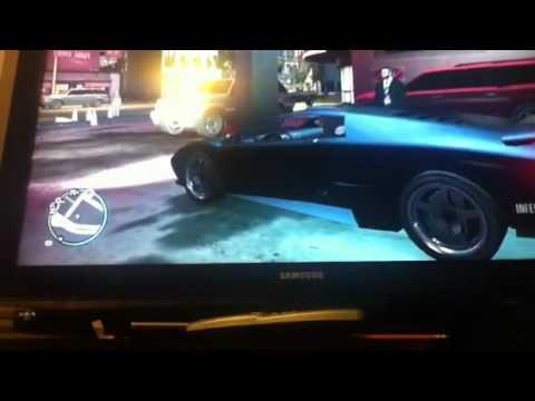 Gta Iv Xbox 360 Where To Find And Steal A Lamborghini