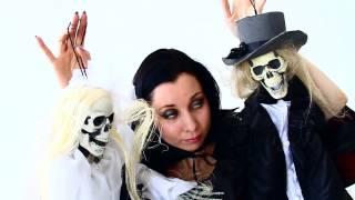 Куклы мертвой невесты и жениха   украшение на Хэллоуин