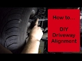 DIY 2006 Grand Caravan Driveway Alignment - quick and easy