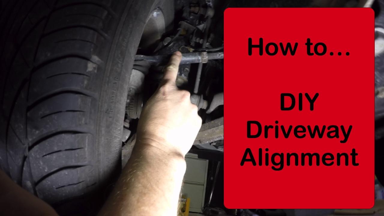 DIY 2006 Grand Caravan Driveway Alignment - quick and easy ...
