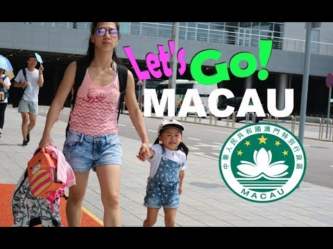 VLOG # 7 A DAY TRIP TO MACAU / STUDIO CITY / HELLO KITTY ( Part 1 )