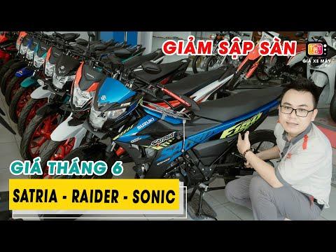 Giá Xe Honda Sonic - Suzuki Raider / Satria 2021 Giảm Sập Sàn Mùa COVID Tháng 6 | Satria Indoesia