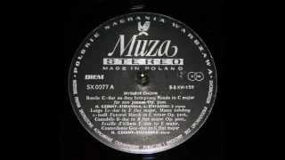 Chopin / Halina Czerny-Stefanska, 1950s: Contredanse in G flat major