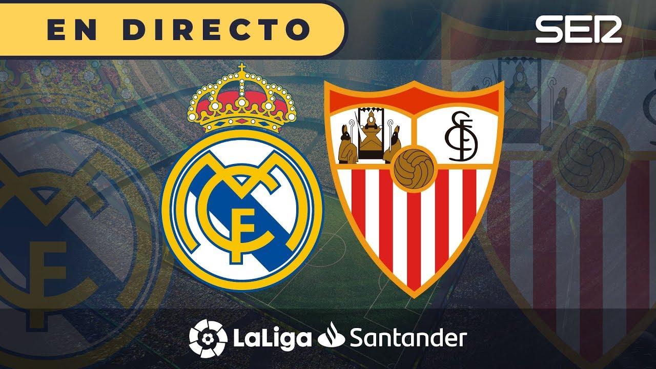 Sigue en directo y online el Real Madrid vs. Sevilla, de LaLiga ...