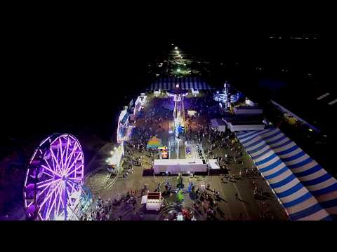 2017 Kailua Kona Hawaii County Fair Phantom 4 footage