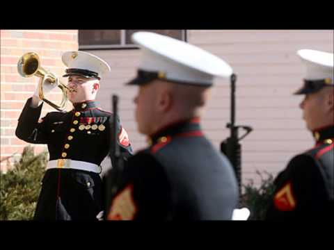 Marine Corps Evening Colors Routine