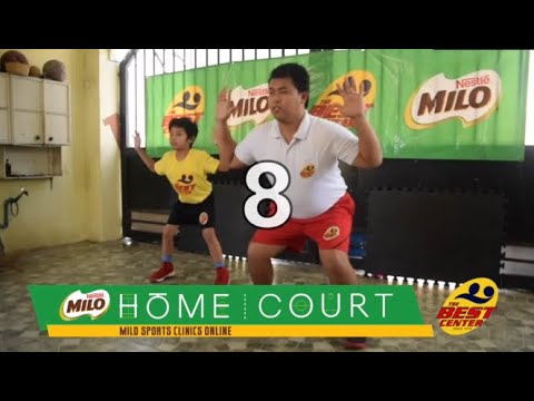 MILO Sports Clinics Online- Basketball: Week 3 (Ball Handling Confidence Part 2)