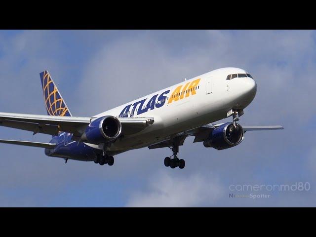 Atlas Air   Charter Arrival   Boeing 767-300   N640GT   Nassau,Bahamas