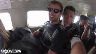 My first jump (Skydive Spa)