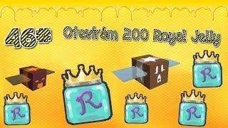 🌻🐝OTEVÍRÁM 200 ROYAL JELLY??! 😱+ NOVÝ KÓD🍯🌸 / 46# / ROBLOX / Bee Swarm Simulator / jurasek05