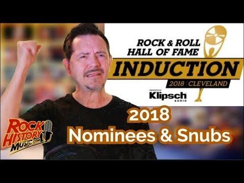 The Rock & Roll Hall of Fame 2018 inductees are ...