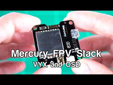 Mercury FPV Stack - 06 VTX and OSD
