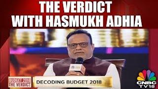 #BudgetVerdict: The Verdict With Finace Secretary Hasmukh Adhia | #budget #cnbc Tv | CNBC TV18