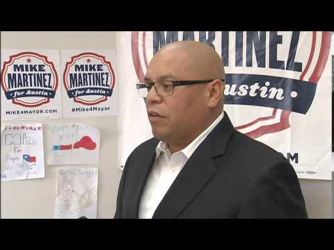 You Decide: Austin Mayoral Candidate Mike Martinez #ATXelectionHQ