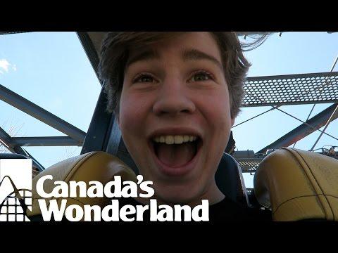 CANADA'S WONDERLAND SCHOOL TRIP!!