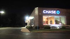 Investigation Scene at Chase Bank 24-Hour ATM Robbery on E Golf Rd, Arlington Heights
