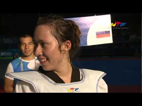 Female +73kg Gold / Olga IVANOVA (Russia)