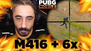 M416 + 6x = ÖLÜM !!! - PUBG Mobile