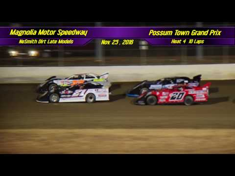 NeSmith Dirt Late Models | Magnolia Motor Speedway | Nov  26 , 2016