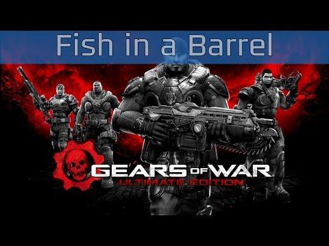 Gears Of War: Ultimate Edition - Act #1: Fish In A Barrel Walkthrough [HD 1080P]