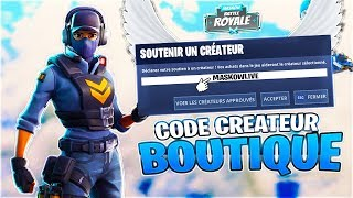 I DID MY INTRO CODE CREATEUR ON FORTNITE AVIS ❔JE DO FOR FREE ALL WORLD