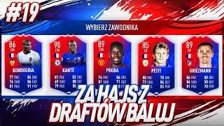 TE KARTY POWINNY BYĆ ZAKAZANE... 188 DRAFT! / FIFA 19 ZA HAJS Z DRAFTÓW BALUJ [#19]